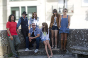 Immaculate Fools group portrait in Cambados 2016