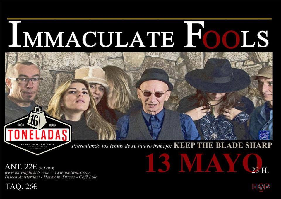 immaculate fools direct en Valencia cartel