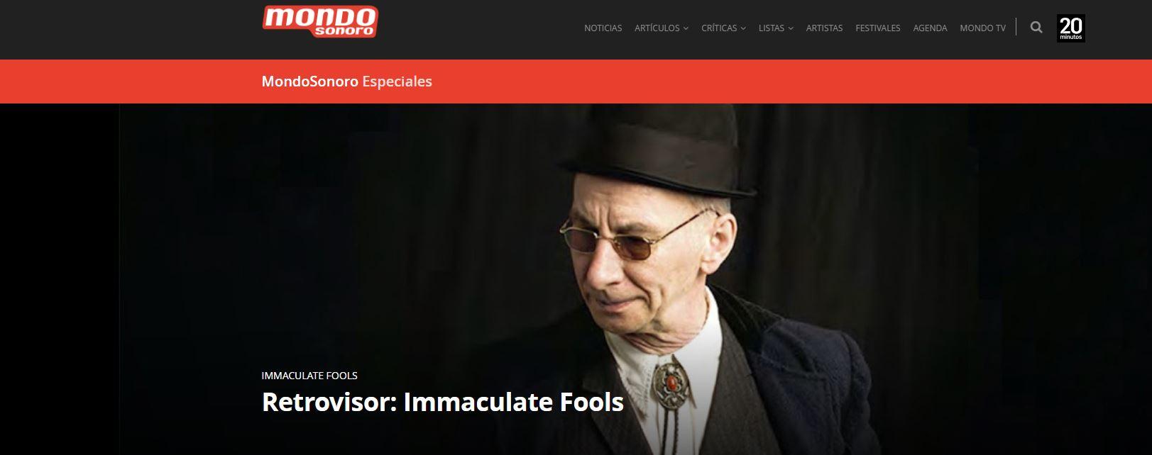 photo clip from magazine MondoSonoro