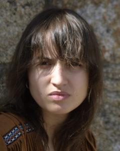 Portrait of guitarist Laura Solla Gómez