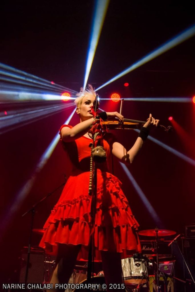erica nockalls live on stage